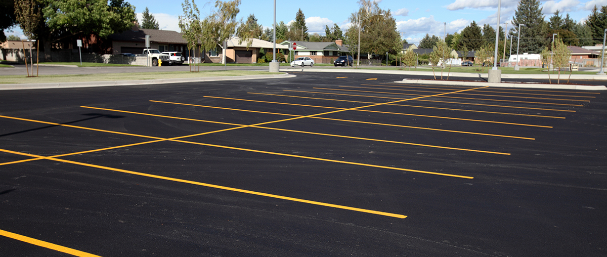Changes to parking lot - Chapman Hill Elementary School