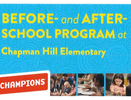 CHAMPIONS: Before- and After-School Program at Chapman Hill Elementary