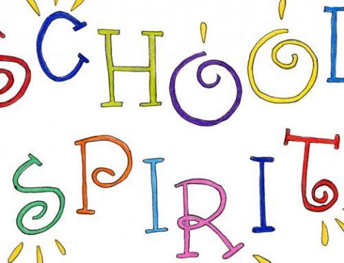 School Spirit Dress Up Winter/Spring 2020